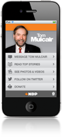 NDP App for iPhone